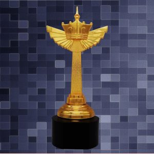 Sculpture Trophies CR9292 – Exclusive Crown Sculptures Awards