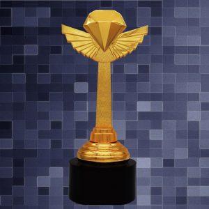 Sculpture Trophies CR9294 – Exclusive Diamond Sculptures Awards