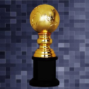 Sculpture Trophies CR9295 – Exclusive Globe Sculptures Awards