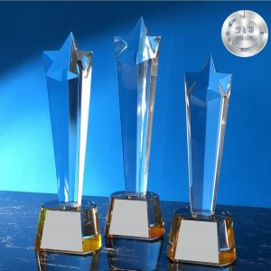 Crystal Trophies CR9309 – Exclusive Star Crystal Trophy
