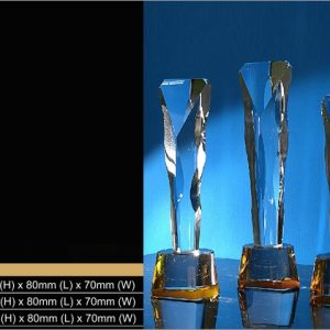 Crystal Trophies CR9318 – Exclusive Crystal Trophy