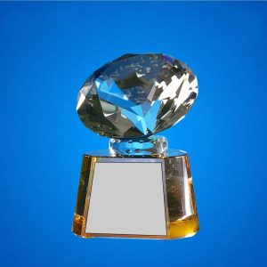 Crystal Plaques CR9327 – Exclusive Diamond Crystal Awards
