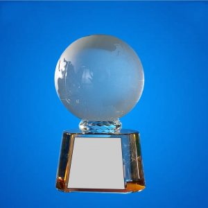 Crystal Plaques CR9328 – Exclusive Globe Crystal Awards