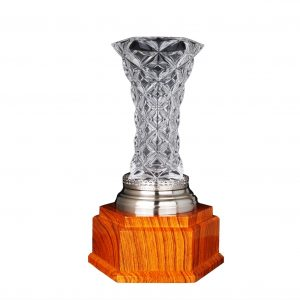 Crystal Trophies CR9332 – Exclusive Crystal Vase Trophy