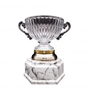 Crystal Trophies CR9336 – Exclusive Crystal Bowl Trophy