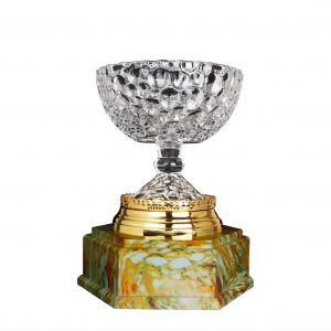 Crystal Trophies CR9337 – Exclusive Crystal Bowl Trophy