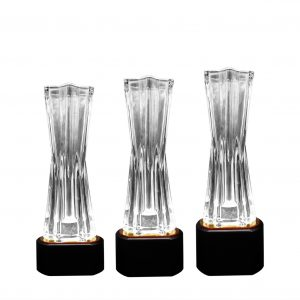 Crystal Trophies CR9339 – Exclusive Crystal Vase Trophy