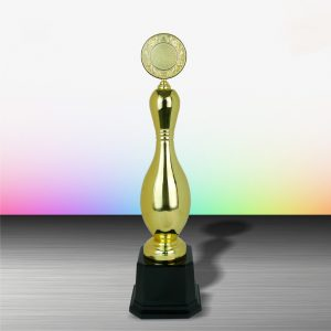 Silver Trophies EXWS6071 – Exclusive White Silver Bowling Trophy