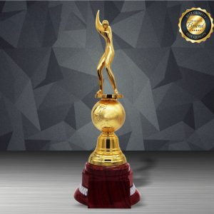Silver Trophies EXWS6204 – Exclusive White Silver Golf Trophy