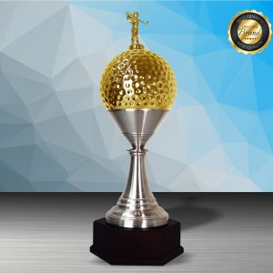 Silver Trophies EXWS6205 – Exclusive White Silver Golf Trophy