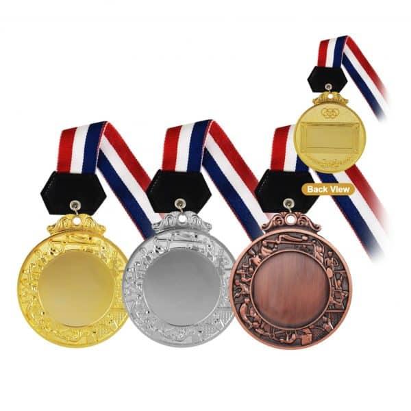Medals MEM002 – Hanging Medal Metal (GOLD, SILVER, BRONZE)
