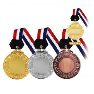 Medals MEM003 – Hanging Medal Metal (GOLD, SILVER, BRONZE)