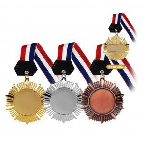 Medals MEM004 – Hanging Medal Metal (GOLD, SILVER, BRONZE)