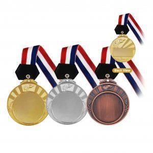 Medals MEM005 – Hanging Medal Metal (GOLD, SILVER, BRONZE)