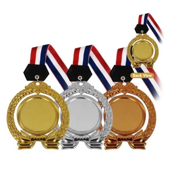 Medals MEM011 – Hanging Medal Metal (GOLD, SILVER, BRONZE)