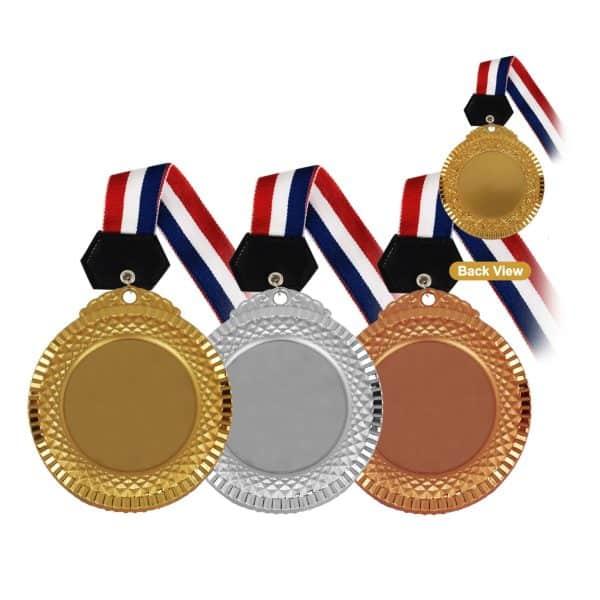 Medals MEM012 – Hanging Medal Metal (GOLD, SILVER, BRONZE)