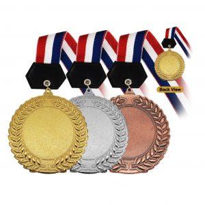 Medals MEM018 – Hanging Medal Metal (GOLD, SILVER, BRONZE)