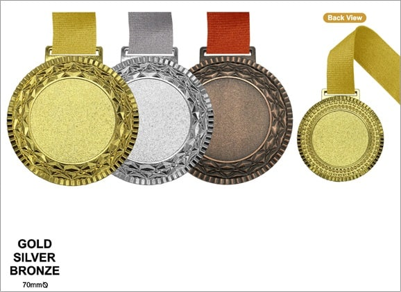Medals MEM019 – Metal Hanging Medal