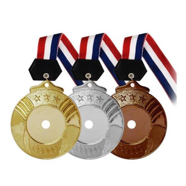 Medals PLHM001 – Plastic Hanging Medal (GOLD, SILVER, BRONZE)