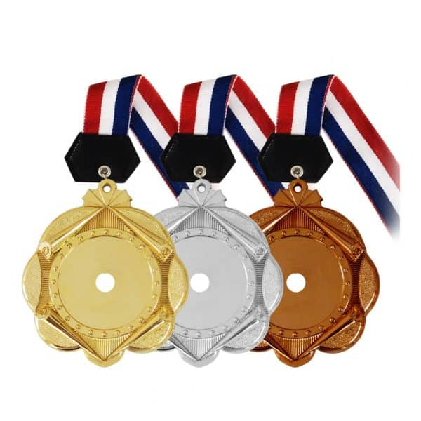 Medals PLHM003 – Plastic Hanging Medal (GOLD, SILVER, BRONZE)