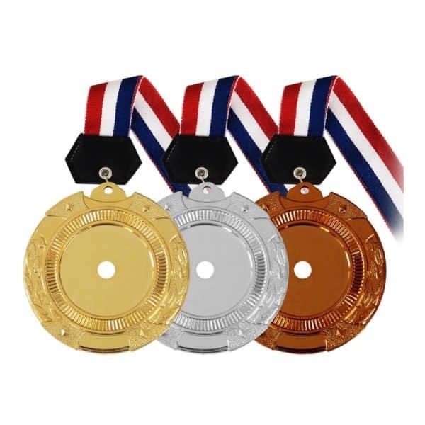 Medals PLHM005 – Plastic Hanging Medal (GOLD, SILVER, BRONZE)