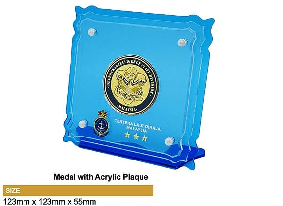 Medals SP5038 – Medal with Acrylic Plaque