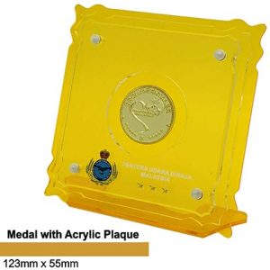 Medals SP5040 – Medal with Acrylic Plaque