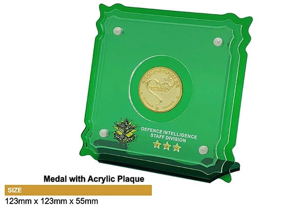 Medals SP5041 – Medal with Acrylic Plaque