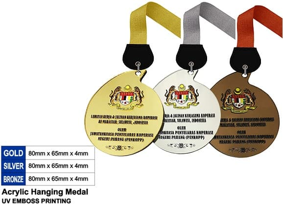 Acrylic Medals SP5043 – Acrylic Hanging Medal