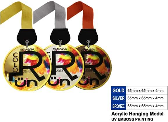 Acrylic Medals SP5044 – Acrylic Hanging Medal