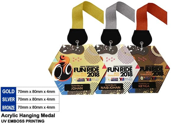 Acrylic Medals SP5045 – Acrylic Hanging Medal
