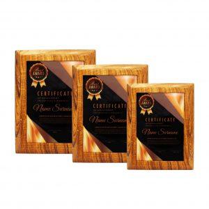 Plaques WP7176 – Exclusive Wooden Plaque