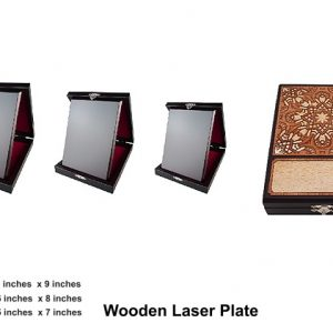 Plaques WP7191 – Modern wooden laser plate plaque awards & Souvenirs