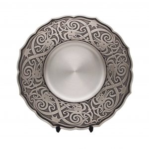Pewter Plaques WP7223 – Traditional Motion Pewter Tray