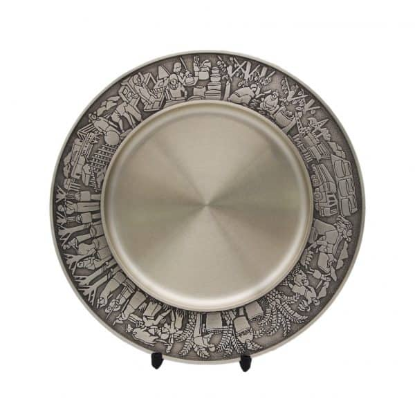Pewter Plaques WP7226 – Malaysian Industrial Pewter Plate