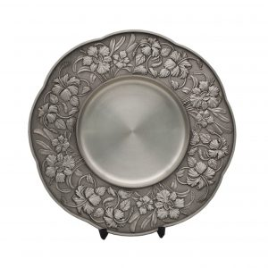 Pewter Plaques WP7231 – Bunga Raya Pewter Plate